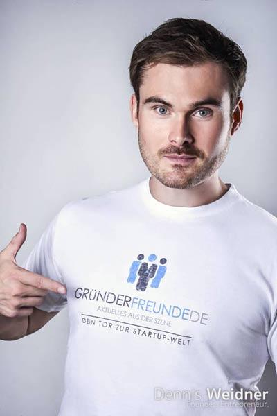 Dennis Weidner - Gruenderfreunde Gruenderszene News